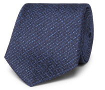 8cm Basketweave Silk Tie