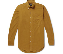 Easyday Button-Down Collar Cotton-Corduroy Shirt