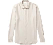 Modal, Silk And Cashmere-blend Shirt