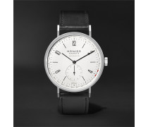 Tangente Neomatik Automatic 41mm Stainless Steel and Leather Watch, Ref. No. 180