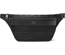 Logo-Detailed Shell Belt Bag