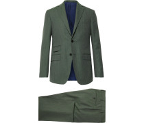 Grey-Green Kincaid No 3 Wool Suit