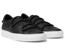 Urban Leather Slip-on Sneakers