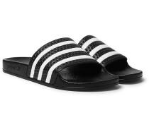 Adilette Textured-rubber Slides - Black