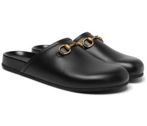 Horsebit Leather Sandals