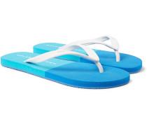 Haston Two-tone Rubber Flip Flops