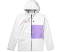 ACG Packable Hooded Two-Tone Nylon Jacket