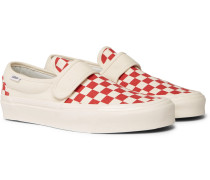 Anaheim 47 V Dx Checkerboard Canvas Sneakers