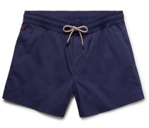 Mid-length Swim Shorts - Navy