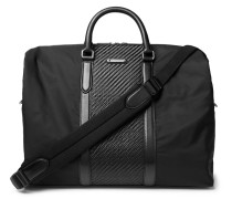 Pelle Tessuta Leather And Shell Holdall