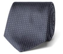 6cm Pin-dot Silk Tie