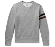 + Todd Snyder + Champion Harry's Fleece-back Cotton-blend Jersey Sweatshirt - Gray