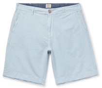 Malibu Linen And Cotton-blend Shorts