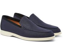Summer Walk Linen Loafers
