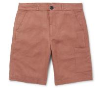Judo Wide-leg Linen Shorts