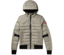 Cabri Quilted Nylon-Ripstop Hooded Down Jacket