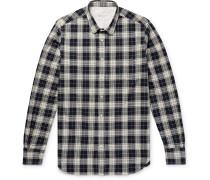 Checked Herringbone Cotton Shirt