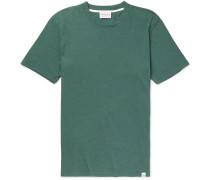 James Cotton And Linen-blend T-shirt