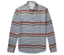 Belmar Reversible Striped Cotton Shirt