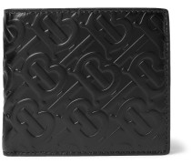 Logo-Embossed Leather Billfold Wallet