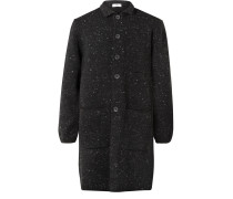 Merino Wool and Cashmere-Blend Coat