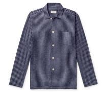 Cannington Gingham Cotton Pyjama Shirt