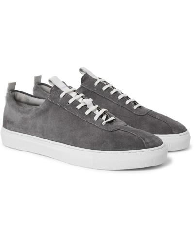 Suede Sneakers - Gray