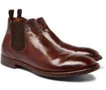 Princeton Burnished-leather Chelsea Boots
