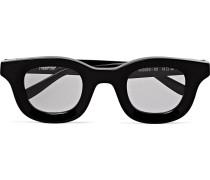 + Thierry Lasry Rhodeo Square-Frame Tortoiseshell Acetate Sunglasses
