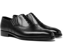 Winston Leather Oxford Brogues - Black