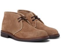 Suede Desert Boots - Light brown