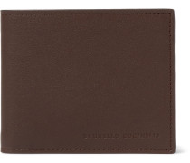 Full-grain Leather Billfold Wallet - Chocolate