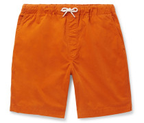 Shoreway Cotton-Twill Drawstring Shorts