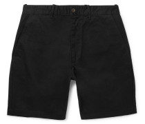 Tommy Cotton-twill Chino Shorts - Black