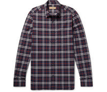 Checked Cotton-poplin Shirt