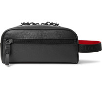 Full-Grain Leather Wash Bag