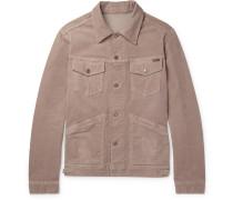 Stretch-cotton Corduroy Jacket - Pink
