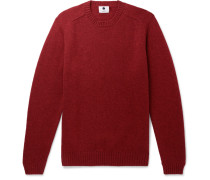 Nathan Wool Sweater - Red