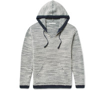 Alta Alpaca, Wool And Organic Cotton-blend Hooded Sweater