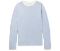 Robin Striped Loopback Cotton-jersey Sweatshirt