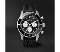 Superocean Héritage II B01 Chronometer 44mm Stainless Steel and Rubber Watch, Ref. No. AB0162121B1S1