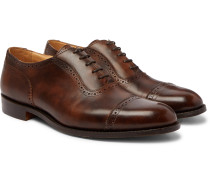 Trenton Cap-Toe Leather Oxford Brogues