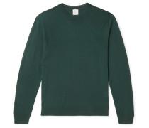 Slim-fit Merino Wool Sweater - Emerald