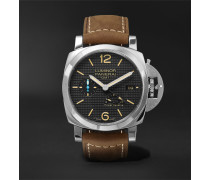 Luminor 1950 3 Days Acciaio 42mm Stainless Steel And Leather Watch