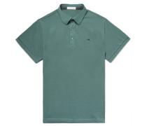 Slim-fit Cotton-piqué Polo Shirt - Emerald