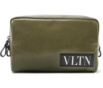 Valentino Garavani Coated-canvas Pouch