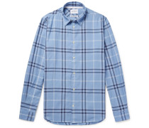 Hans Checked Cotton-twill Shirt