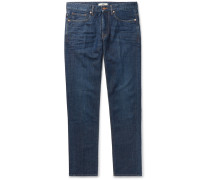 Slim-fit Denim Jeans - Indigo