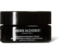Regenerating Night Cream - Neuro-peptide & Violet Leaf Extract, 40ml - Colorless