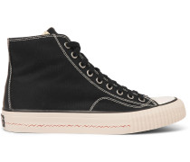 Skagway Canvas High-top Sneakers - Black